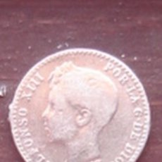 Monedas de España: 50 CÉNTIMOS DE PLATA DE ALFONSO XIII DE 1900 (KM 705). Lote 64451595