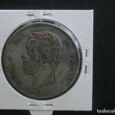 Monedas de España: AMADEO - FALSO DE EPOCA - MATERIAL BLANDO. Lote 64733459