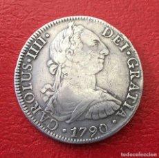 Monedas de España: 8R CARLOS IIII 1790 MEXICO. Lote 64974535