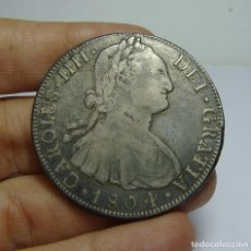 Monedas de España: 8 REALES. PLATA. CARLOS IV. POTOSI - PJ - 1804. Lote 65104491