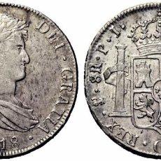 Monedas de España: SPAIN COIN FERNANDO VII 8 REALES 1818 POTOSI PLATA SILVER ORIGINAL MAGNIFICA!! R251020163294. Lote 65444278