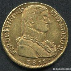 Monedas de España: 8 ESCUDOS (1 ONZA) DE ORO FERNANDO VII - SANTIAGO 1811 - BUSTO ALMIRANTE - MUY ESCASA. Lote 66574218