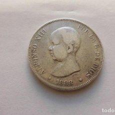Monedas de España: 5 PESETAS 1888 * XXX(8) MPM ALFONSO XIII. Lote 66950054