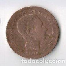 Monedas de España: ESPAÑA - 5 CENTIMOS - 1878 - ALFONSO XII - COBRE. Lote 67319361