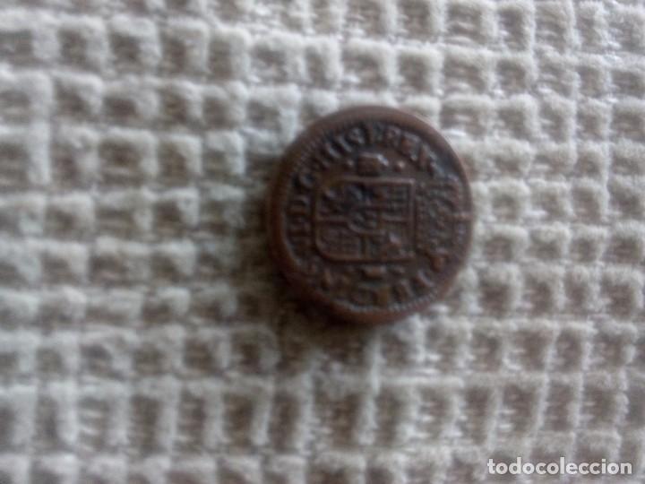 MONEDA 1 MARAVEDÍ FERNANDO VI 1747 (Numismática - España Modernas y Contemporáneas - De Reyes Católicos (1.474) a Fernando VII (1.833))