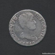 Monedas de España: 2 REALES 1812 FERNANDO VII MADRID I.J - PLATA. Lote 67471125