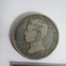 Monedas de España: MONEDA 1 PESETA 1903 ALFONSO XIII. Lote 67594281