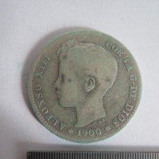 Monedas de España: MONEDA 1 PESETA 1900 ALFONSO XIII. Lote 67594605