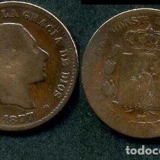 Monedas de España: ESPAÑA 5 CENTIMOS AÑO 1877 OM ( ALFONSO XII - REY DE ESPAÑA DE 1874 A 1885 ) Nº5. Lote 67747093