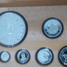 Monedas de España: QUINTO CENTENARIO DESC. AMERICA SERIE IIIESTUCHE DE 7 MONEDAS. Lote 67864421