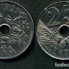 Monedas de España: ESPAÑA 25 CENTIMOS AÑO 1927 PCS ( MONEDA DE LA EPOCA DEL REY ALFONSO XIII ) Nº7. Lote 193352190