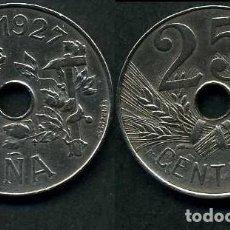 Monedas de España: ESPAÑA 25 CENTIMOS AÑO 1927 PCS ( MONEDA DE LA EPOCA DEL REY ALFONSO XIII ) Nº8. Lote 207452210
