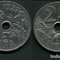 Monedas de España: ESPAÑA 25 CENTIMOS AÑO 1927 PCS ( MONEDA DE LA EPOCA DEL REY ALFONSO XIII ) Nº9. Lote 132446717