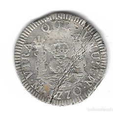 Monedas de España: MONEDA. 1 REAL. CARLOS III. 1770. MEJICO. Lote 68097569