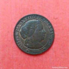 Monedas de España: ISABEL II : 1 CENTIMO DE ESCUDO 1868 SEVILLA - BRILLO ORIGINAL . Lote 68120717