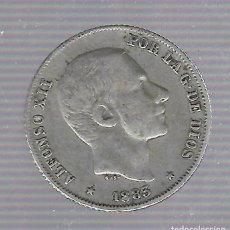 Moedas de Espanha: MONEDA. ALFONSO XII. 20 CENTAVOS DE PESO. MANILA. 1883.. Lote 68467161