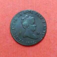 Monedas de España: ISABEL II : 2 MARAVEDIS 1849 SEGOVIA. Lote 68498293