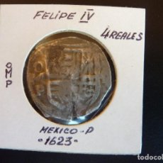 Monedas de España: FELIPE IV 4 REALES MEXICO D.. Lote 68761025