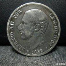 Monedas de España: 2 PESETAS 1882 ALFONSO XII PLATA. Lote 68854117