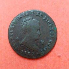Monedas de España: ISABEL II : 4 MARAVEDIS 1837 JUBIA. Lote 68901201