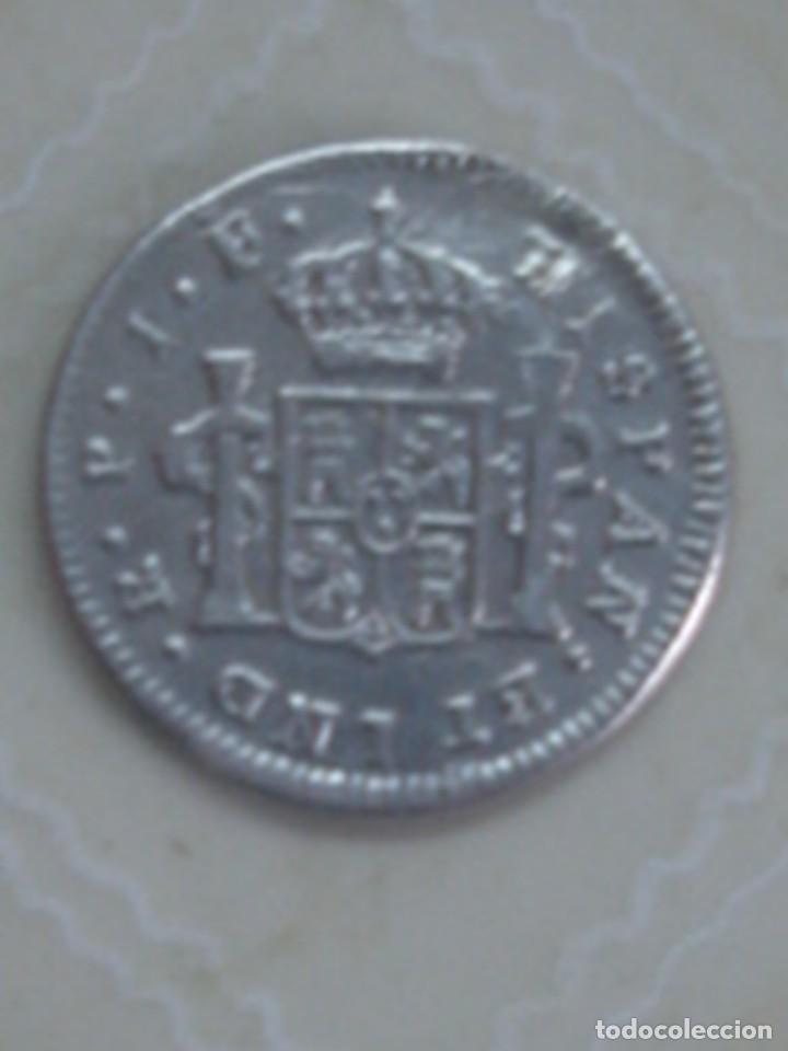 Monedas de España: 1/2 real de plata de Fernando VII de 1810. Popayán JF. KM. 69.2 - Foto 2 - 69084677