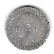 Monedas de España: MONEDA. 1 PESETA. ALFONSO XIII. 1902. ESTRELLA 02.. Lote 69823401