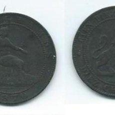 Monedas de España: 10 CÉNTIMOS, 1870, GOBIERNO PROVISIONAL. Lote 70162350