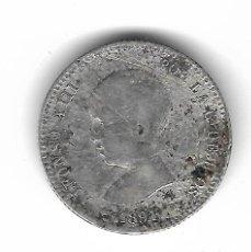 Monedas de España: MONEDA. ALFONSO XIII. 1 PESETA. 1891.. Lote 70531417