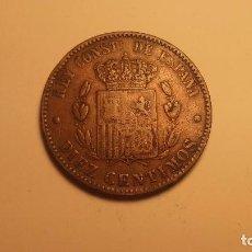 Monedas de España: YOLASVENDO RAROS 10 CENTIMOS DE ALFONSO XII SIN OM RARISIMA. Lote 287370328