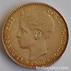 Monedas de España: 1 PESETA - 1900*19-00 - SMV - ALFONSO XIII - BELLÍSIMA. Lote 71501291