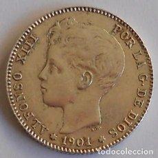 Monedas de España: 1 PESETA - 1901*19-01 - SMV - MUY BONITA - ALFONSO XIII. Lote 71504375