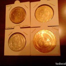 Monedas de España: LOTE DE 4 MONEDAS DE LA COLECCION DEL REAL A LA PESETA. Lote 71737831