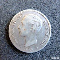 Monedas de España: 1 PESETA. AÑO 1876 *76. MONEDA DE PLATA ALFONSO XII. . Lote 72852871