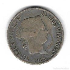 Monedas de España: MONEDA. 1 ESCUDO. ISABEL II. 1868. MADRID. Lote 73627539