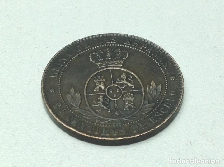 2 1/2 CENTIMOS DE ESCUDO DE ISABEL II 1868 (Numismática - España Modernas y Contemporáneas - De Isabel II (1.834) a Alfonso XIII (1.931))