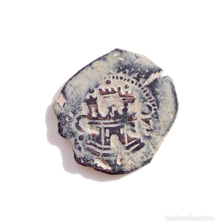 FELIPE II CECA DE CUENCA C Iº GRANADA ENCIMA DEL LEÓN - II MARAVEDÍS (Numismática - España Modernas y Contemporáneas - De Reyes Católicos (1.474) a Fernando VII (1.833))