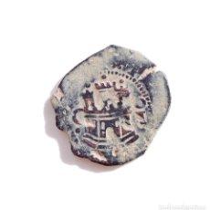 Monedas de España: FELIPE II CECA DE CUENCA C Iº GRANADA ENCIMA DEL LEÓN - II MARAVEDÍS. Lote 73819447