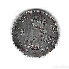 Monedas de España: MONEDA. 2 REALES. ISABEL II. 1852. MADRID. Lote 156567080
