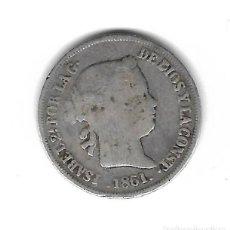 Monedas de España: MONEDA. 2 REALES. ISABEL II. 1861. MADRID. Lote 73883927
