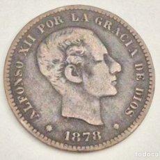 Monedas de España: MONEDA CINCO CÉNTIMOS 1878. Lote 74359330