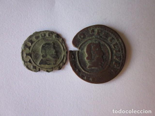8 Y 16 MARAVEDÍS. FELIPE IV. GRANADA 1663 Y CÓRDOBA 1664. (Numismática - España Modernas y Contemporáneas - De Reyes Católicos (1.474) a Fernando VII (1.833))