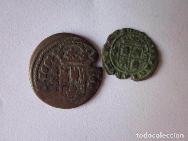 Monedas de España: 8 y 16 Maravedís. Felipe IV. Granada 1663 y Córdoba 1664. - Foto 2 - 75102919