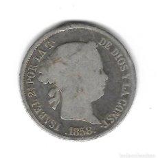 Monedas de España: MONEDA. ISABEL II. 4 REALES. 1858. MADRID. Lote 75197299