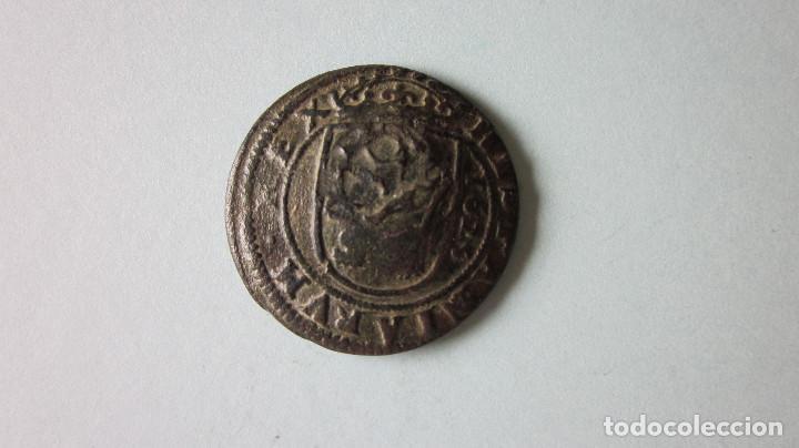 OCHO MARAVEDÍS. FELIPE III. SEGOVIA, 1625. RESELLO. (Numismática - España Modernas y Contemporáneas - De Reyes Católicos (1.474) a Fernando VII (1.833))