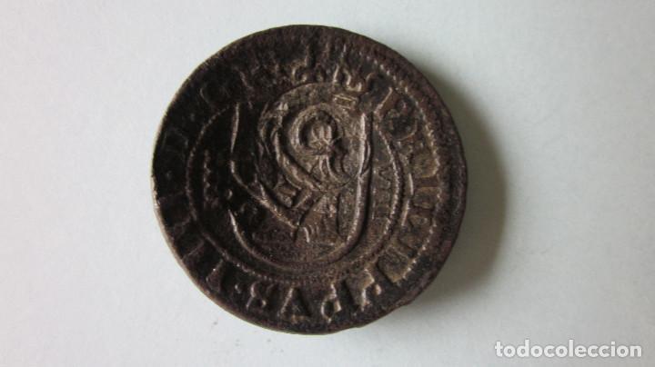 Monedas de España: Ocho maravedís. Felipe III. Segovia, 1625. Resello. - Foto 2 - 75561935