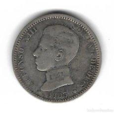 Monedas de España: MONEDA. ALFONSO XIII. 1 PESETA. 1903.. Lote 76054563