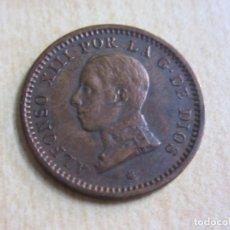 Monedas de España: MONEDA DE DOS CÉNTIMOS DE ALFONSO XIII CECA MADRID 1912 ESTRELLA 12. Lote 76985681