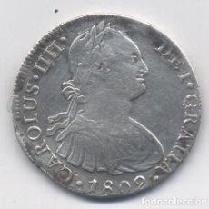 Monedas de España: CARLOS IIII- 8 REALES-1802-LIMA. Lote 77423893