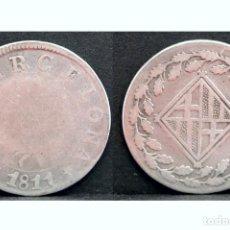 Monedas de España: 1 PESETA 1811 BARCELONA PLATA NAPOLEON ESCASA. Lote 49984721
