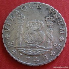 Monedas de España: 1748 COLUMNARIO 8 REALES. Lote 78390405